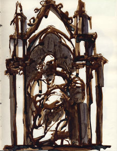 26x21 Encre - Florence 2004